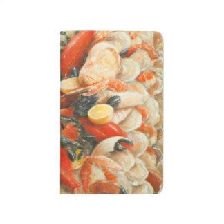 Carnet De Poche Fantaisie 2010 de fruits de mer