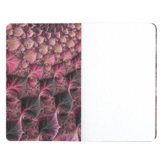 Carnet De Poche Fractale rose