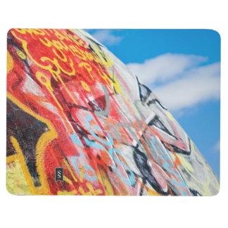 Carnet De Poche graffiti de planète