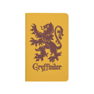 Carnet De Poche Graphique de lion de Harry Potter | Gryffindor