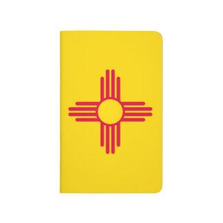 Carnet De Poche Graphique dynamique de drapeau d'état du Nouveau