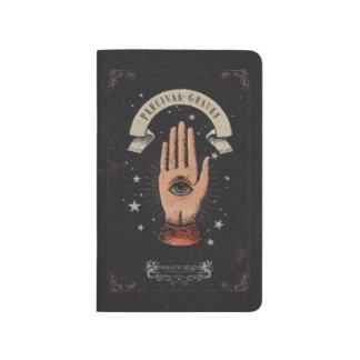 Carnet De Poche Graphique magique de main de tombes de Perceval