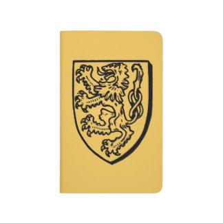 Carnet De Poche Héraldique : Lion