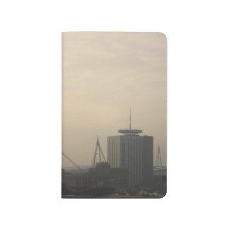 Carnet De Poche Horizon de ville de Cardiff
