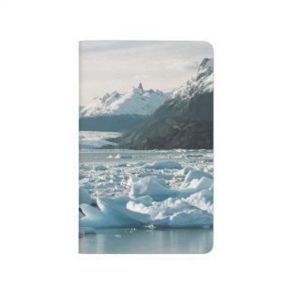Carnet De Poche Icebergs glaciaires