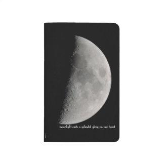 Carnet De Poche Inspiré par la lune