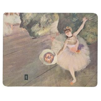Carnet De Poche Le danseur d'Edgar Degas   prend un arc