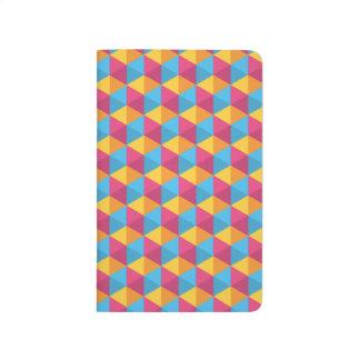 Carnet De Poche Le motif I de cube