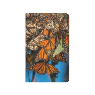 Carnet De Poche Les papillons de monarque de migration