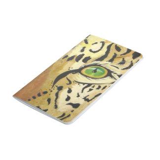Carnet De Poche L'oeil du léopard (art de Kimberly Turnbull)