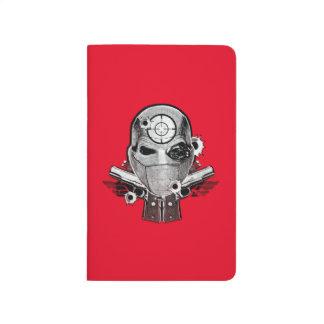 Carnet De Poche Masque du peloton | Deadshot de suicide et art de