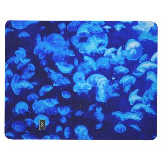 Carnet De Poche Méduses bleues