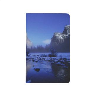 Carnet De Poche Montagne d'EL Capitan, parc national de Yosemite,