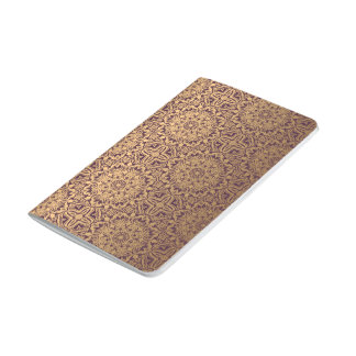 Carnet De Poche Motif antique royal de luxe floral