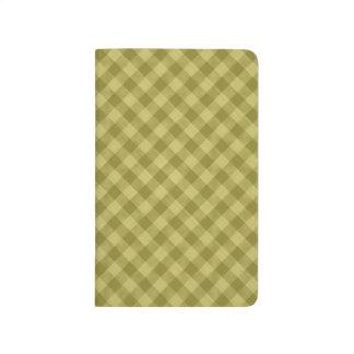 Carnet De Poche motif coloré géométrique de coton