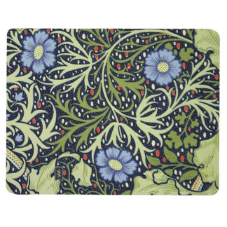 Carnet De Poche Motif de papier peint d'algue de William Morris