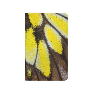 Carnet De Poche Motif en gros plan d'aile de papillon tropical