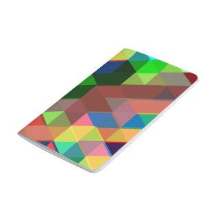 Carnet De Poche Motif géométrique audacieux de cube