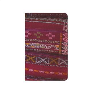 Carnet De Poche Motifs de coussin de textile