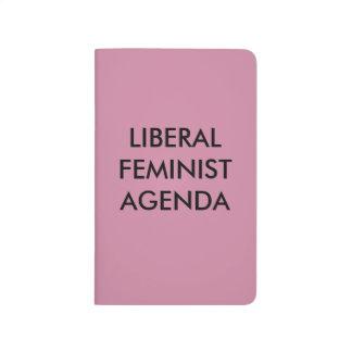 Carnet De Poche Ordre du jour féministe libéral