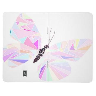 Carnet De Poche Papillon géométrique