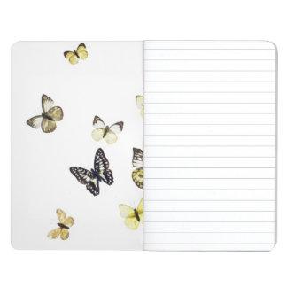 Carnet De Poche Papillons tirés sur le blanc