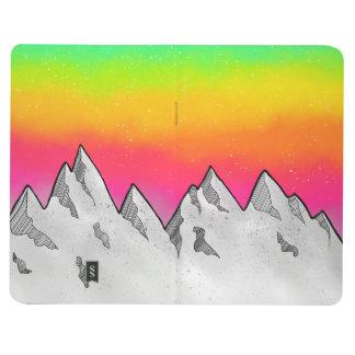 Carnet De Poche Paysage de scène de montagne