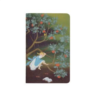 Carnet De Poche Petite fille sur l'arbre des rêves