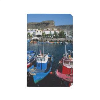 Carnet De Poche Port de pêche, Puerto de Mogan, mamie Canaria,