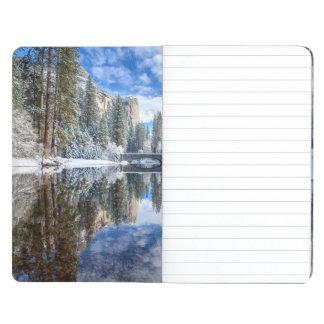 Carnet De Poche Réflexion d'hiver chez Yosemite