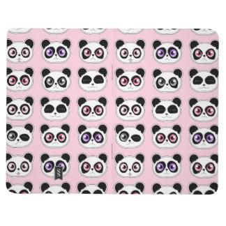 Carnet De Poche Rose d'expressions de panda
