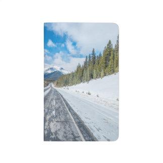 Carnet De Poche Route express de champs de glace