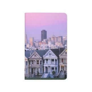 Carnet De Poche San Francisco, la Californie. Vue de victorien