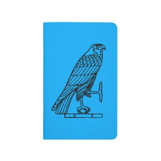 Carnet De Poche Symbole égyptien : Faucon