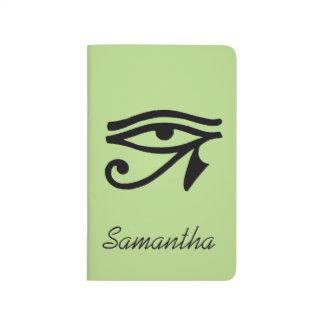 Carnet De Poche Symbole égyptien : Wedjat