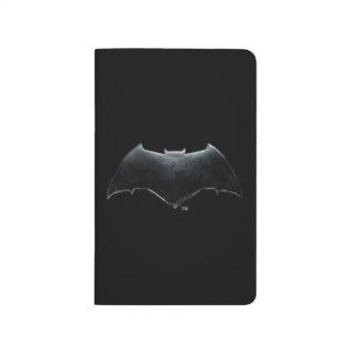 Carnet De Poche Symbole métallique de la ligue de justice | Batman
