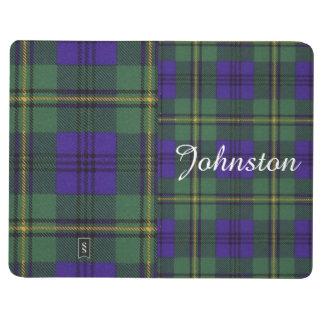 Carnet De Poche Tartan d'écossais de plaid de clan de Johnston