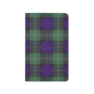Carnet De Poche Tartan d'écossais de plaid de clan de Sutherland