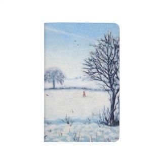 Carnet De Poche Une promenade d'hivers