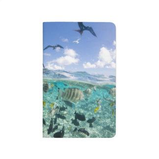 Carnet De Poche Voyage de safari de lagune comportant des