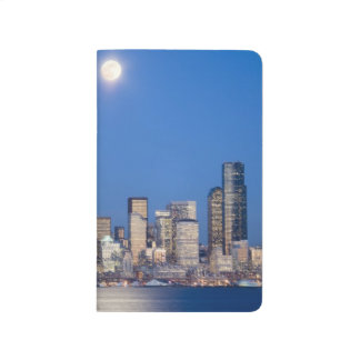 Carnet De Poche WA, horizon de Seattle, Seattle et baie 3