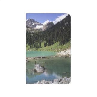 Carnet De Poche WA, Okanogan N-F, lac lewis et crête noire