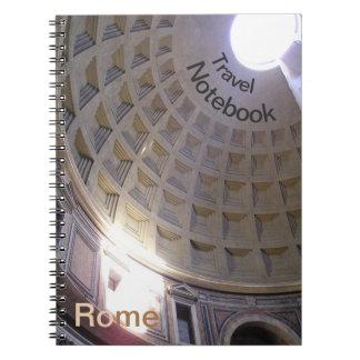 Carnet de voyage de destination de Rome de