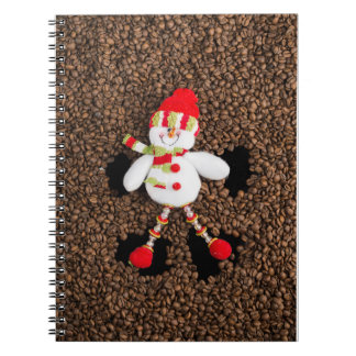 Carnet Décoration de bonhomme de neige de Noël