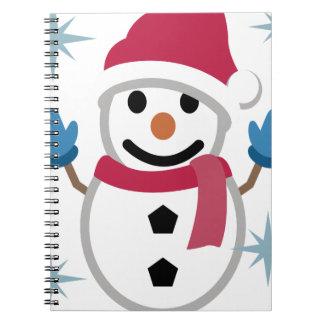 Carnet Dessin de bonhomme de neige