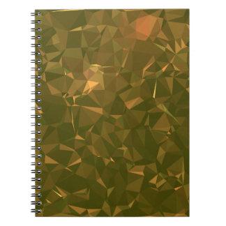 Carnet Dessins géométriques élégants et propres -