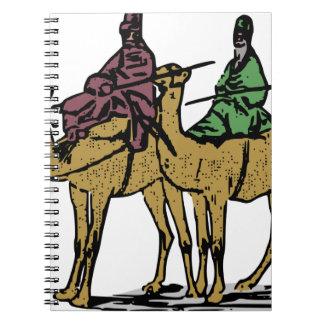 Carnet Deux types de chameau