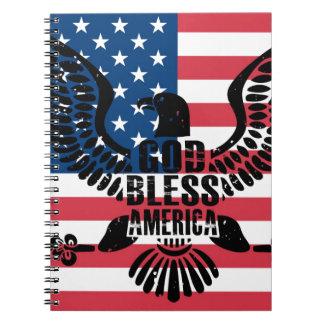Carnet Dieu bénissent l'Amérique
