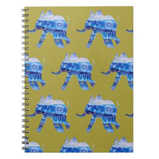 Carnet d'illustration d'éléphant de bébé de