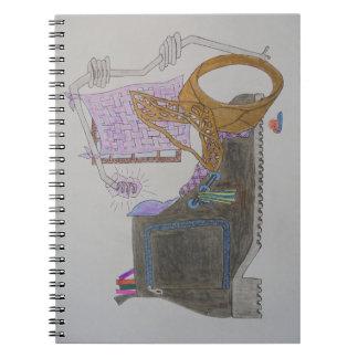 Carnet Divan et chaise dans l'intérieur